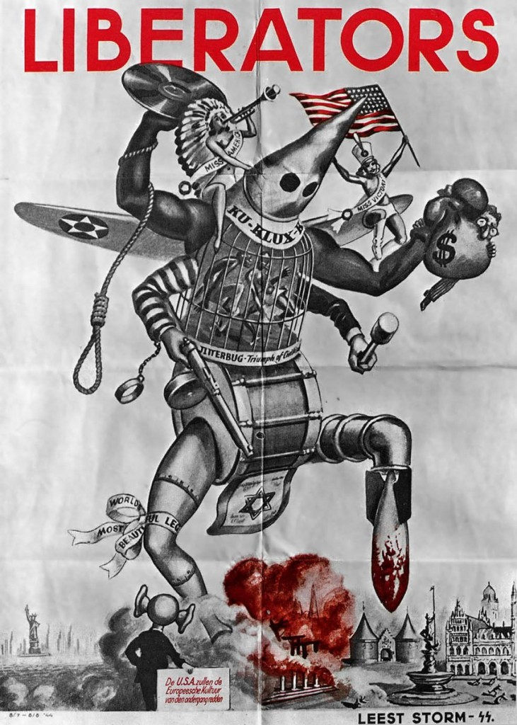 """(This """"America golem"""" is Nazi propaganda from WWII, but remarkably apt these days.)"""