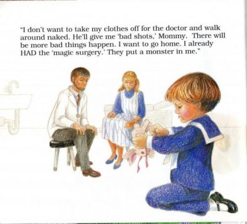 """Don't Make Me Go Back, Mommy: A Child's Book about Satanic Ritual Abuse"" doctor 1"