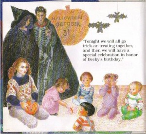 """Don't Make Me Go Back, Mommy: A Child's Book about Satanic Ritual Abuse"" halloween"