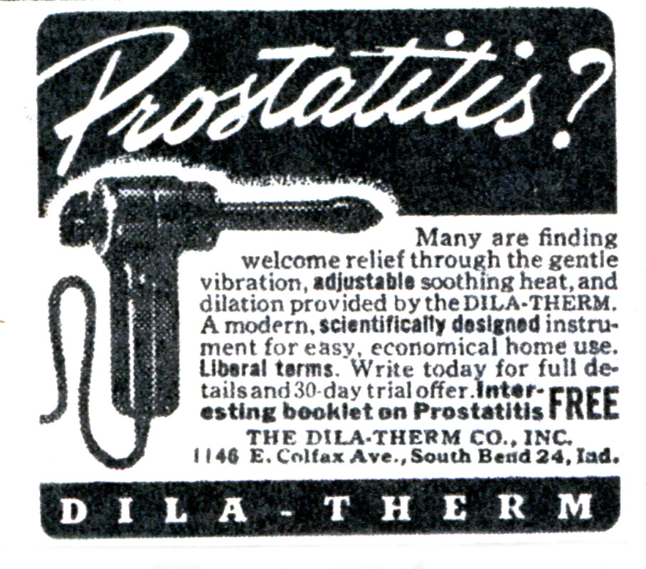 "Prostatitis? ""Dila-therm""!"